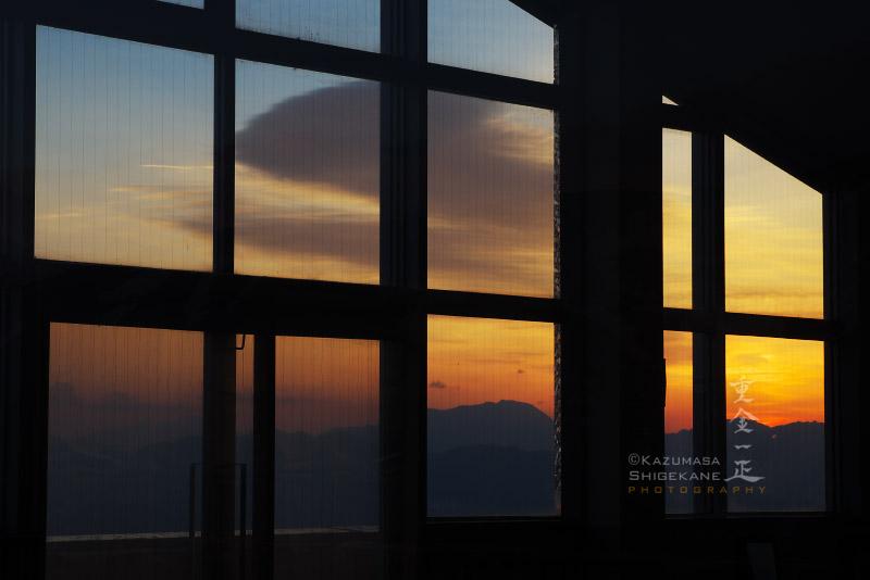 夜明け前のアルプス360