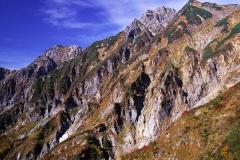 五龍岳岩峰