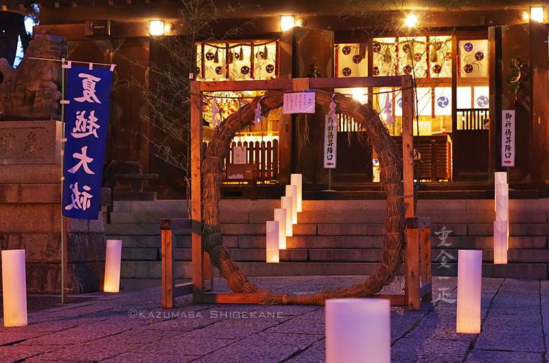 所澤神明社 夏越しの大祓 茅の輪