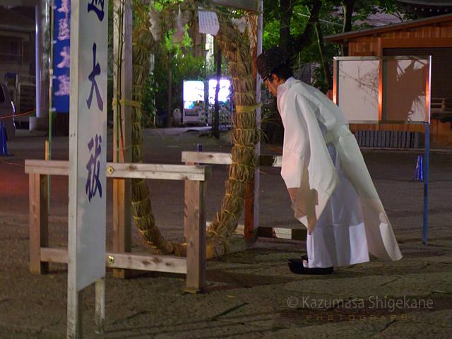所澤神明社 夏越しの大祓