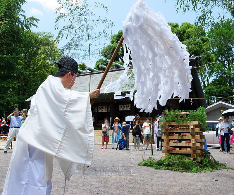 所澤神明社 人形供養祭