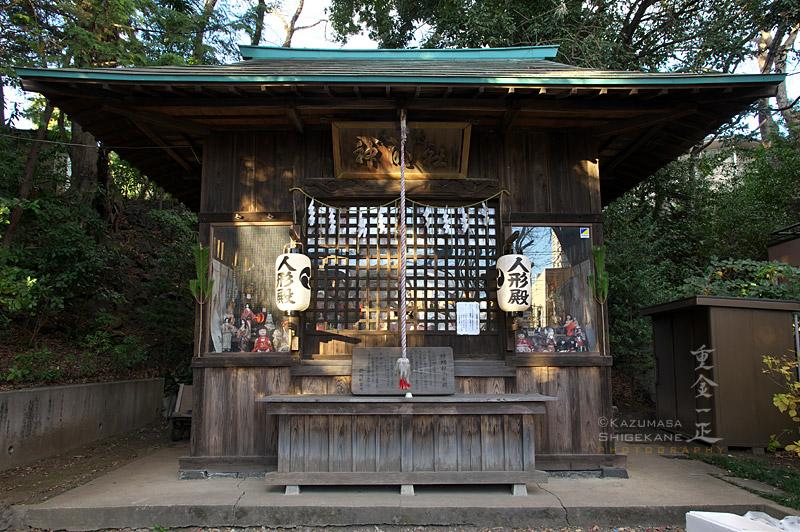 所澤神明社 人形殿