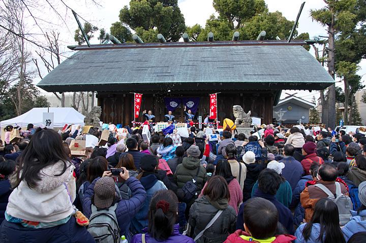 所澤神明社 節分祭