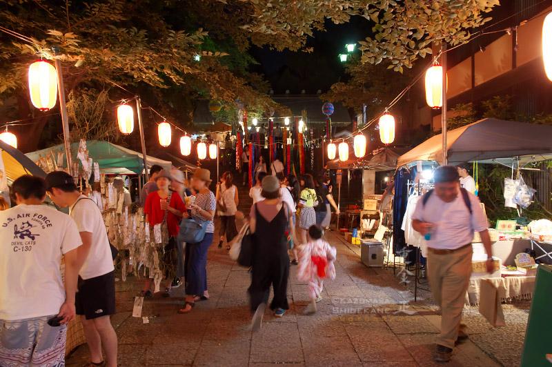 所澤神明社 七夕祭 宵の市