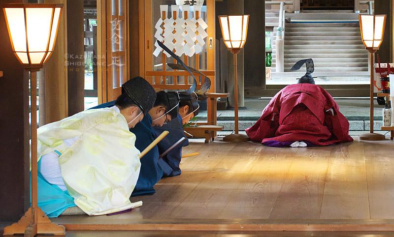 所澤神明社 即位礼当日祭