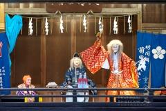 所澤神明社 秋季例大祭 前田社中 竹間澤神楽