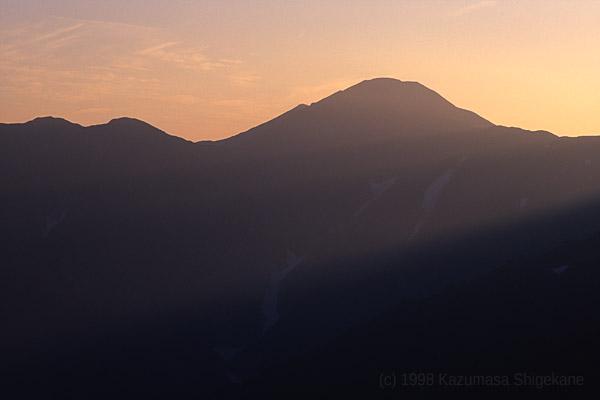 飯豊連峰 大日岳