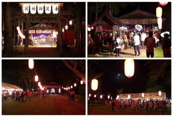 白馬村 飯田神明社 宵祭(20150920-iidashinmeisya)