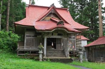 鬼無里 白髯神社 拝殿(d20150907-068)