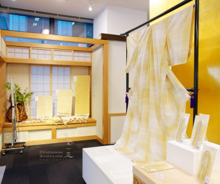 『手織り上田紬 小岩井紬工房展』伝統工芸 青山スクエア
