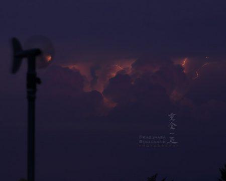 雲放電、雲間雷