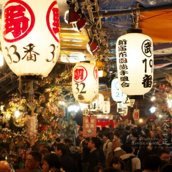 花園神社の大酉祭(一の酉)