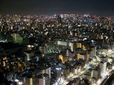 ソラマチ31階からの夜景