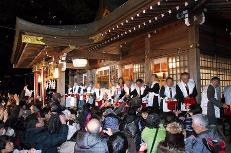北野天神社 節分祭