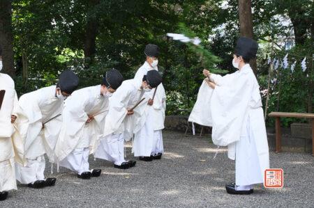 所澤神明社 例大祭 修祓
