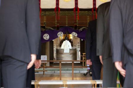 所澤神明社 例大祭 神事