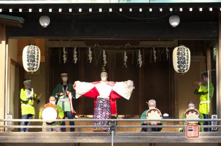 所澤神明社 例大祭 重松流祭り囃子